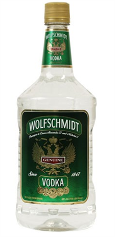 Wolfschmidt Vodka 100 Proof